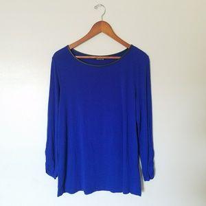 Royal Blue Stitch Fix Shirt Medium